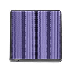 Zig Zag Repeat Pattern Memory Card Reader (Square)