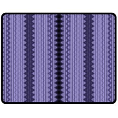 Zig Zag Repeat Pattern Fleece Blanket (medium)