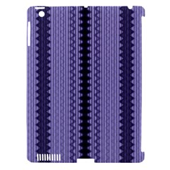 Zig Zag Repeat Pattern Apple Ipad 3/4 Hardshell Case (compatible With Smart Cover)