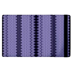 Zig Zag Repeat Pattern Apple iPad 2 Flip Case