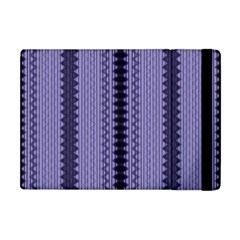 Zig Zag Repeat Pattern Apple iPad Mini Flip Case