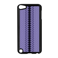 Zig Zag Repeat Pattern Apple Ipod Touch 5 Case (black)