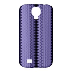 Zig Zag Repeat Pattern Samsung Galaxy S4 Classic Hardshell Case (pc+silicone)