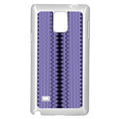 Zig Zag Repeat Pattern Samsung Galaxy Note 4 Case (white)