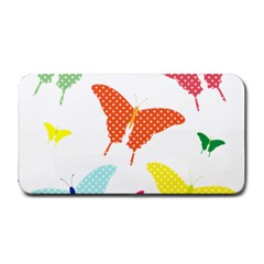 Beautiful Colorful Polka Dot Butterflies Clipart Medium Bar Mats