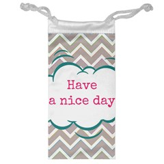 Have A Nice Day Jewelry Bag