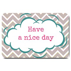 Have A Nice Day Large Doormat