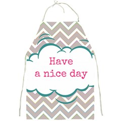 Have A Nice Day Full Print Aprons