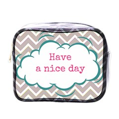 Have A Nice Day Mini Toiletries Bags