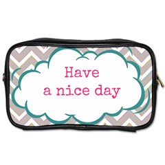 Have A Nice Day Toiletries Bags 2 Side