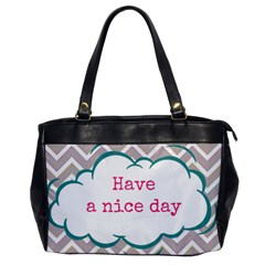 Have A Nice Day Office Handbags