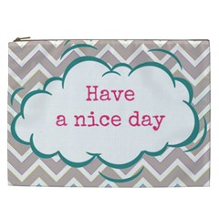 Have A Nice Day Cosmetic Bag (XXL)