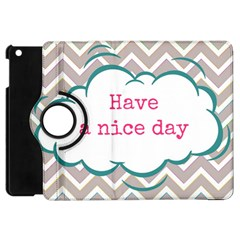 Have A Nice Day Apple Ipad Mini Flip 360 Case