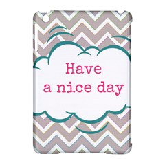 Have A Nice Day Apple iPad Mini Hardshell Case (Compatible with Smart Cover)