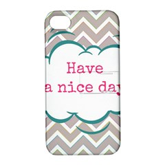 Have A Nice Day Apple iPhone 4/4S Hardshell Case with Stand