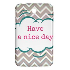 Have A Nice Day Samsung Galaxy Tab 3 (7 ) P3200 Hardshell Case
