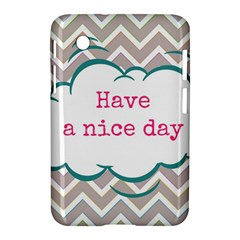 Have A Nice Day Samsung Galaxy Tab 2 (7 ) P3100 Hardshell Case