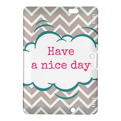 Have A Nice Day Kindle Fire HDX 8.9  Hardshell Case