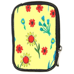 Flowers Fabric Design Compact Camera Cases