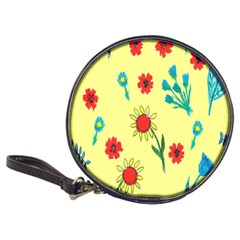 Flowers Fabric Design Classic 20-CD Wallets