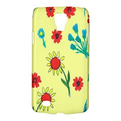Flowers Fabric Design Galaxy S4 Active