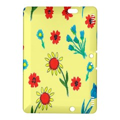 Flowers Fabric Design Kindle Fire HDX 8.9  Hardshell Case