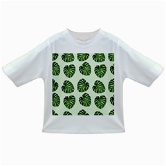 Leaf Pattern Seamless Background Infant/Toddler T-Shirts