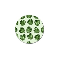 Leaf Pattern Seamless Background Golf Ball Marker (4 pack)