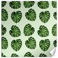 Leaf Pattern Seamless Background Canvas 20  x 20