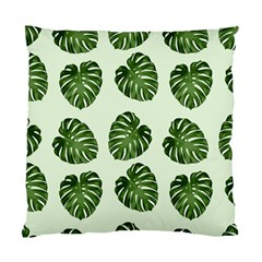 Leaf Pattern Seamless Background Standard Cushion Case (Two Sides)