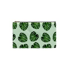 Leaf Pattern Seamless Background Cosmetic Bag (small)