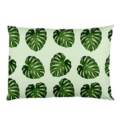 Leaf Pattern Seamless Background Pillow Case (Two Sides)