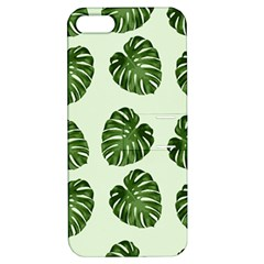 Leaf Pattern Seamless Background Apple iPhone 5 Hardshell Case with Stand