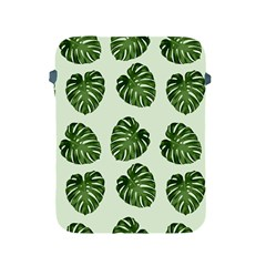 Leaf Pattern Seamless Background Apple Ipad 2/3/4 Protective Soft Cases