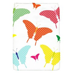Beautiful Colorful Polka Dot Butterflies Clipart Flap Covers (s)