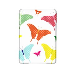 Beautiful Colorful Polka Dot Butterflies Clipart iPad Mini 2 Hardshell Cases