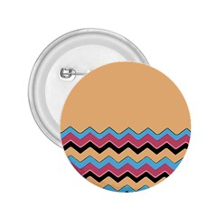 Chevrons Patterns Colorful Stripes 2 25  Buttons