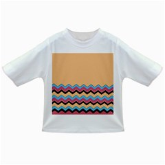 Chevrons Patterns Colorful Stripes Infant/Toddler T-Shirts