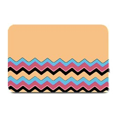 Chevrons Patterns Colorful Stripes Plate Mats