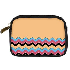 Chevrons Patterns Colorful Stripes Digital Camera Cases