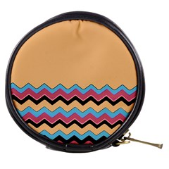 Chevrons Patterns Colorful Stripes Mini Makeup Bags