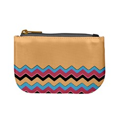 Chevrons Patterns Colorful Stripes Mini Coin Purses