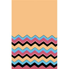 Chevrons Patterns Colorful Stripes 5.5  x 8.5  Notebooks