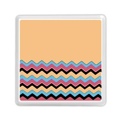 Chevrons Patterns Colorful Stripes Memory Card Reader (Square)