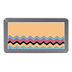 Chevrons Patterns Colorful Stripes Memory Card Reader (mini)