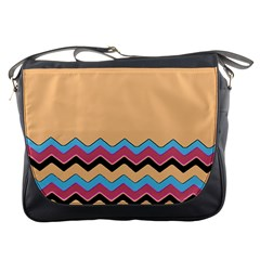 Chevrons Patterns Colorful Stripes Messenger Bags