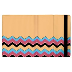 Chevrons Patterns Colorful Stripes Apple iPad 2 Flip Case