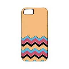 Chevrons Patterns Colorful Stripes Apple iPhone 5 Classic Hardshell Case (PC+Silicone)