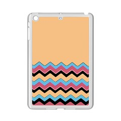 Chevrons Patterns Colorful Stripes Ipad Mini 2 Enamel Coated Cases