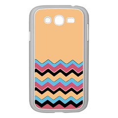 Chevrons Patterns Colorful Stripes Samsung Galaxy Grand DUOS I9082 Case (White)